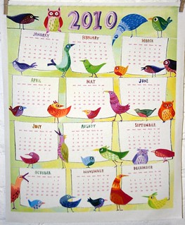 bird_calendar | by Spoonflower Fabrics