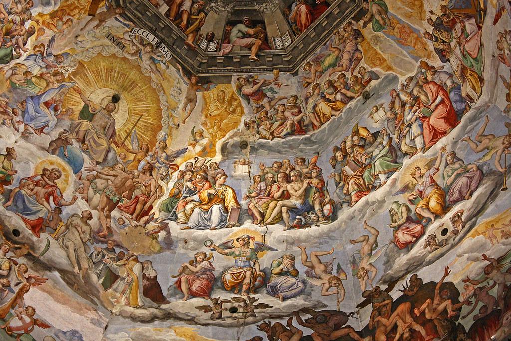 Duomo, Last Judgement, Giorgio Vasari | Duomo Santa Maria ...