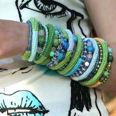 how to wear my bracelets :) | by MarianneS