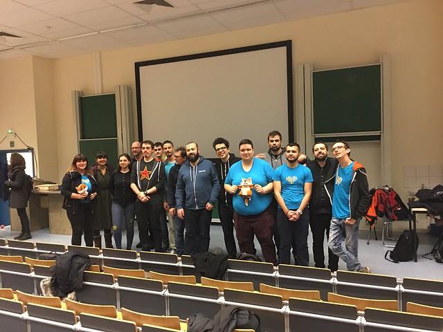 Fosdem 2017 conférences Mozilla