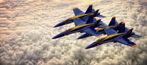 Blue Angles High Flying~ | by JMR Visuals