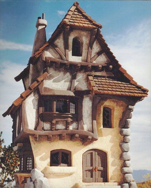 Fantasy Storybook House Model 12e Color Corrected Flickr
