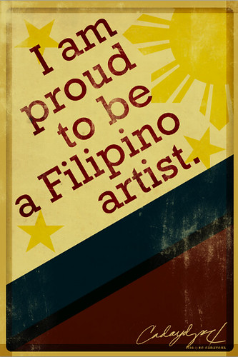 Aren't you proud of being Filipino?