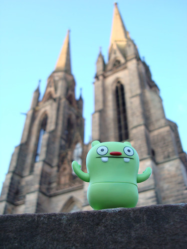 Uglyworld #94 - Jeero at Marburg Dom | by www.bazpics.com