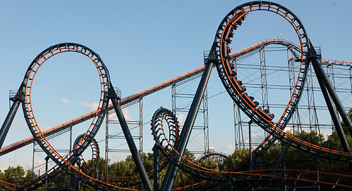 Roller Coaster - Vortex at Kings Island | by Warren County CVB