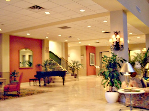 ocean place hotel lobby long branch new jersey flickr. Black Bedroom Furniture Sets. Home Design Ideas