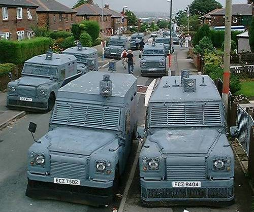 Ex Ruc Armoured Land Rovers We Provided 12 Ex Royal