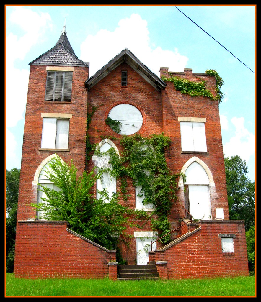Large, Extremely Derelict, Abandoned Church