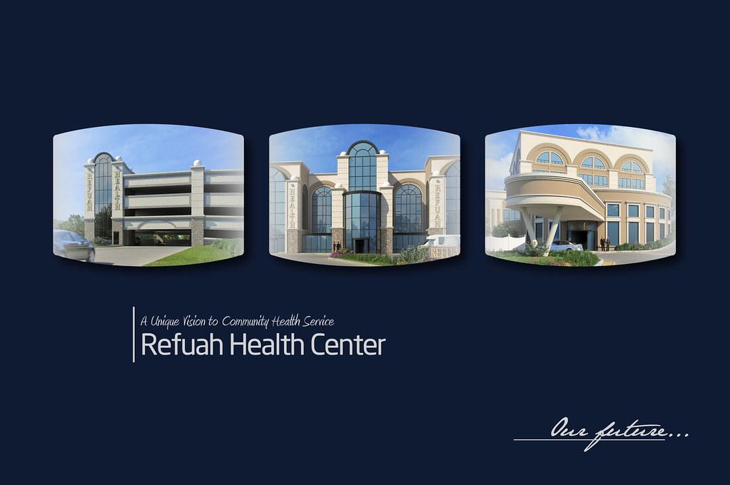 Refuah Health Center | Fascinating booklet project | Sol Kornfeld ...