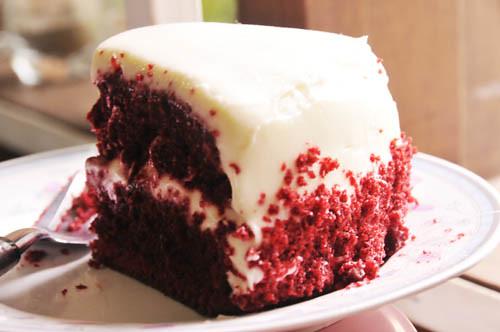 Hummingbird Bakery Red Velvet Cake