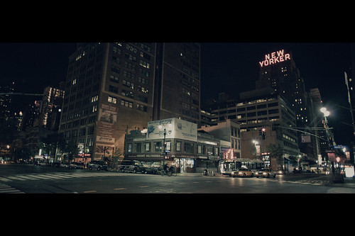 Hell's kitchen at night | by - Loomax -