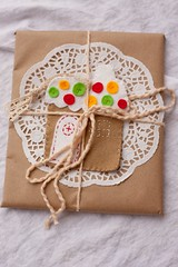 A gingerbread house giftcard holder/ornament for Kristen and Larry | by Sunray and Gene