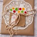 A gingerbread house giftcard holder/ornament for Kristen and Larry