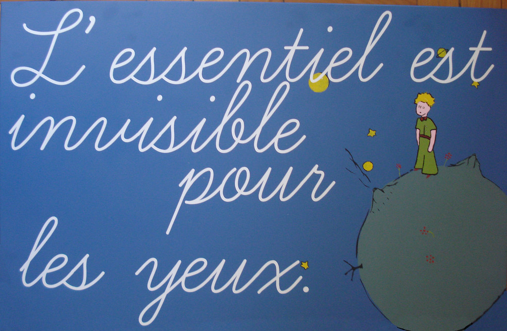 Le Petit Prince - cytat 3 - Francuski przy kawie