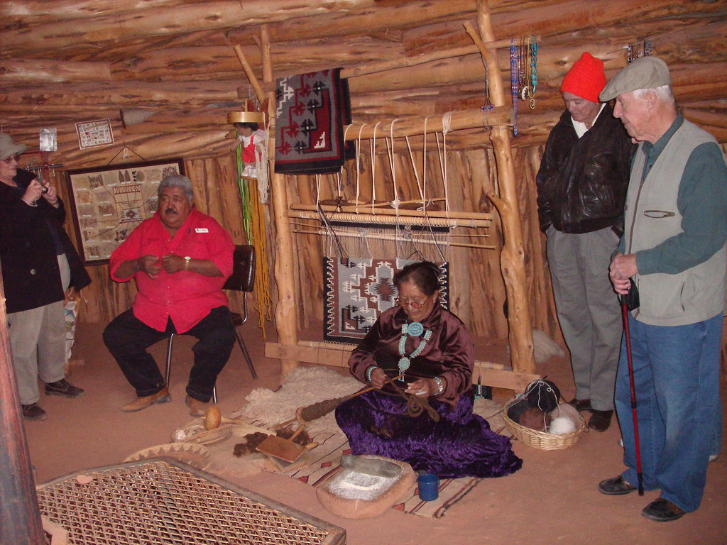 inside Navajo Hogan | Ge digital camera | Meg Tomlin | Flickr