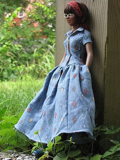 Chambray Dress | by Dolls Ahoy