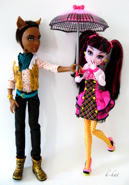 monster high clawd and draculaura meet the millers