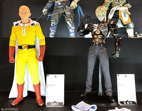 Saitama Genos One Punch Man threezero