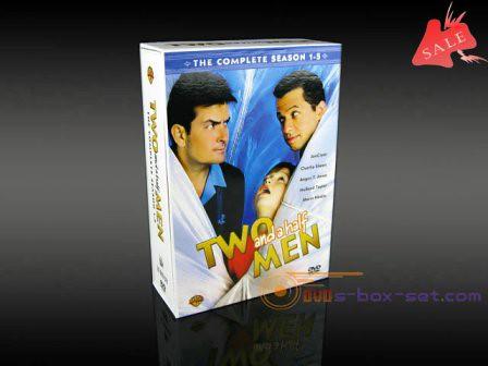 Two and A Half Men Complete Season 1-5 DVD boxset | www ...