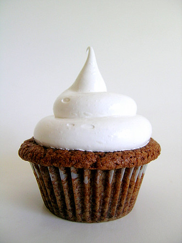 Nutella Cupcakes With Marshmallow Frosting | Cupcakes made w ...