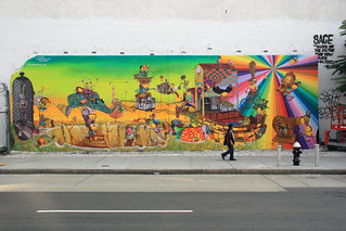 os gemeos mural - completed! | by Luna Park