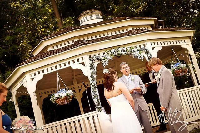 Burgundy Basin Outdoor Wedding Photos Rochester NY