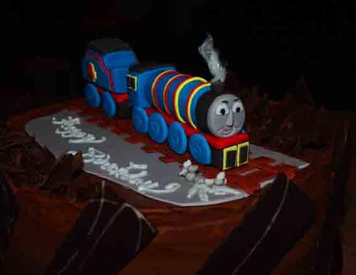Gordon The Train Cake