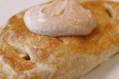 Chausson aux Pommes, Cinnamon Creme Fraiche | by French Revolution Food