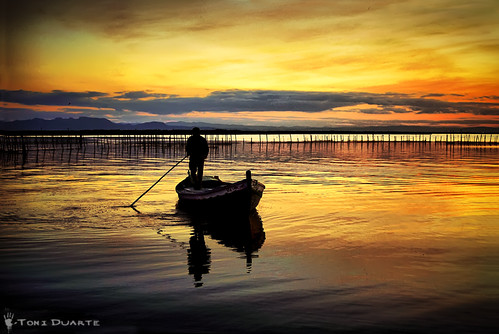 The ferryman. | by Toni Duarte