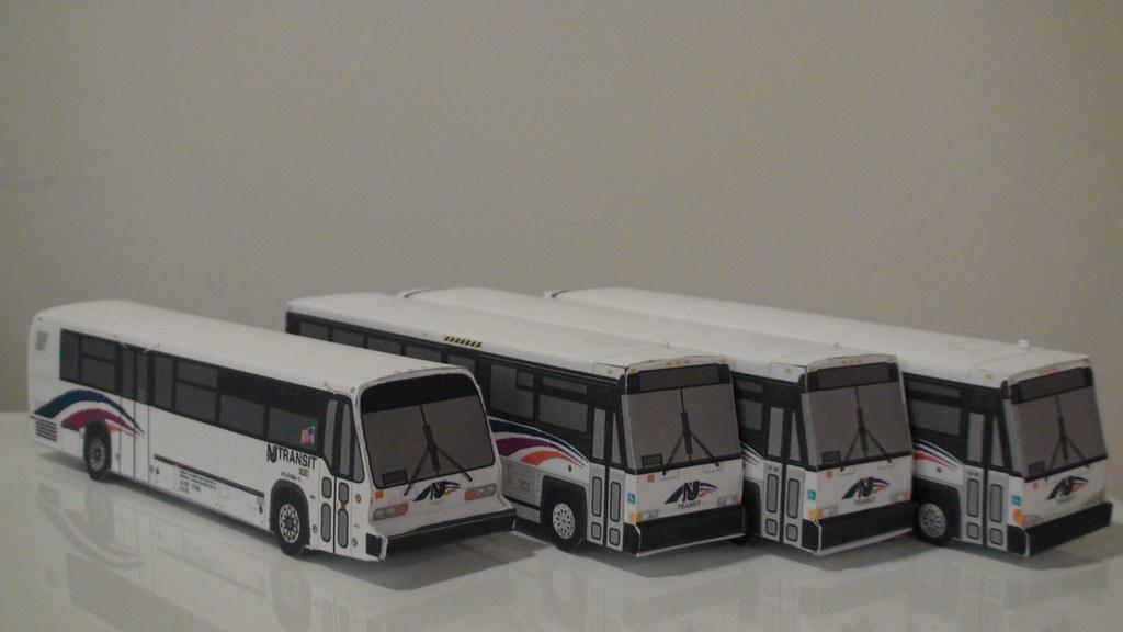 Dsc00853 Paper Buses Rhapsodyfolder Flickr