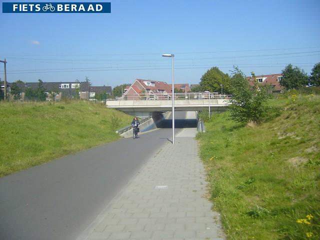 Велопешеходный тоннель в Нидерландах