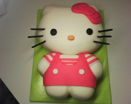Cake Designs Of Hello Kitty : Hello Kitty Cake Black Betty Designs Flickr