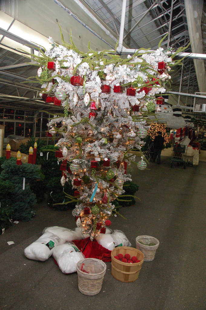 Mahoney 39 S Christmas Garden Center Winchester Ma Upside D Flickr