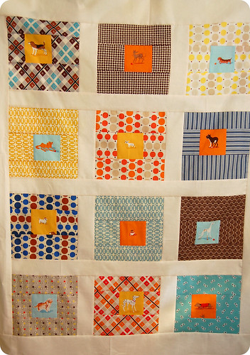 Munki Dog Quilt Top | by joomoolynn