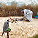 An 'Arab Camp' at the Festival of Falconry in Berkshire