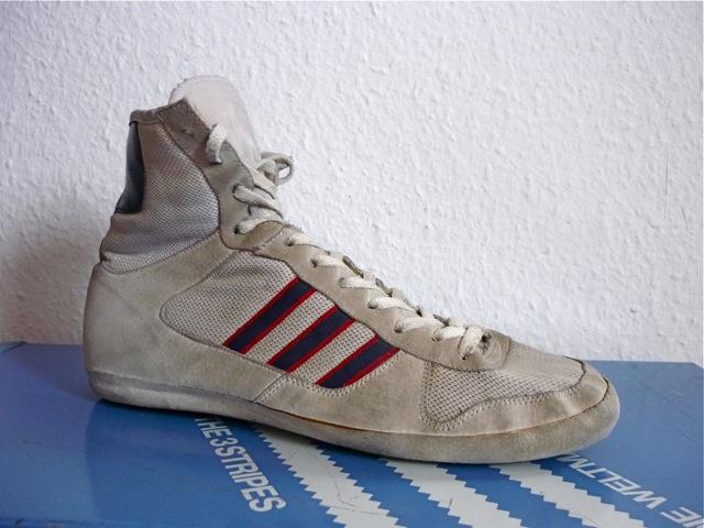 vintage adidas elite international wrestling shoes