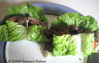 Asian Lettuce Wraps: Wrapping | by Dianne's Dishes