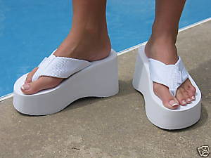 Image result for Platform Flip-Flops