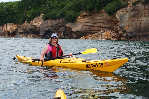Kayaking Pictured Rocks Nat Lakeshore | by CaptPiper