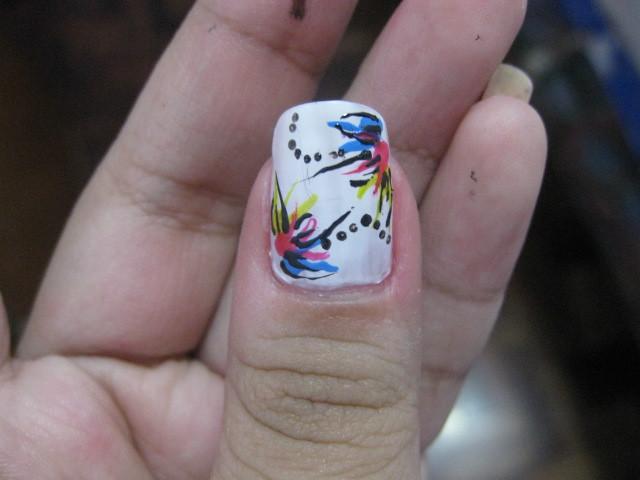 Nail Art Design Abstract Nail Art Design Close Up Flickr