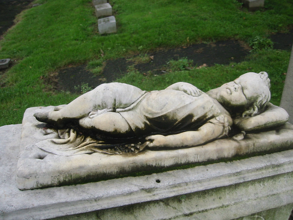 Baby Sleeping Grave 115 1594 Baby Sleeping Cemetery