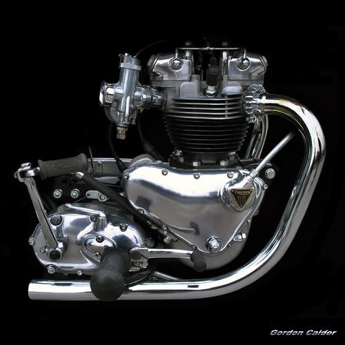 No 48 Classic Triumph Bonneville T120 650cc Pre Unit Mo