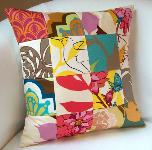Patchwork Drawing Room Pillow | by nestables