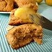 scone with lemon curd