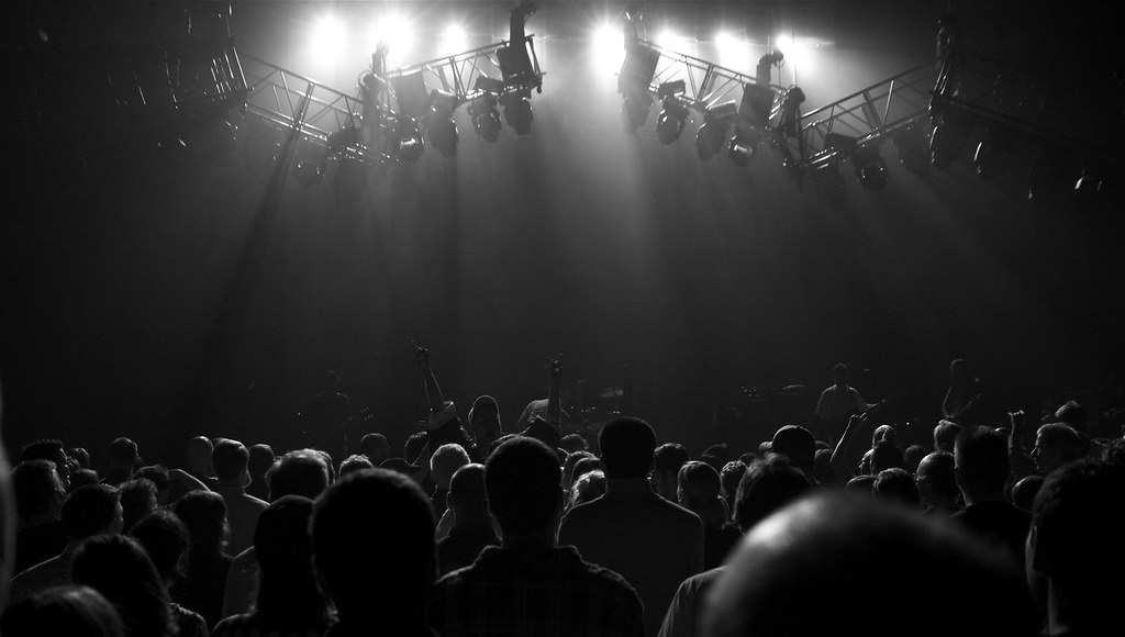 Stage, Crowd and Lights | The Tragically Hip played the ...