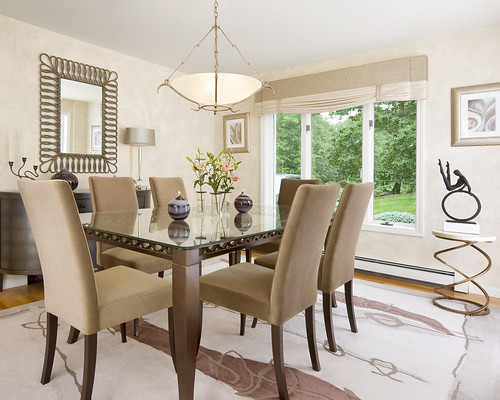 Classic Contemporary Dining Room-2 | by IFDA New England