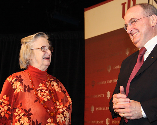 IU Professor Elinor Ostrom first woman to win Nobel Prize in economics | by Indiana Public Media