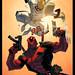Deadpool Vs Shatterstar by E Mann