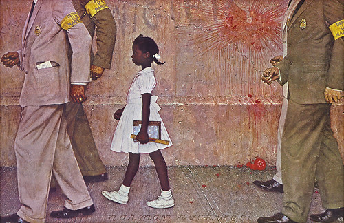 1964 The Problem We All Live With Norman Rockwell