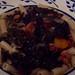 Linguiça and Kale soup over pasta